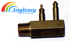 OMC Outboard Boat Fuel Tank Connector