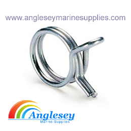 Stainless Steel Fuel Line Hose Clips